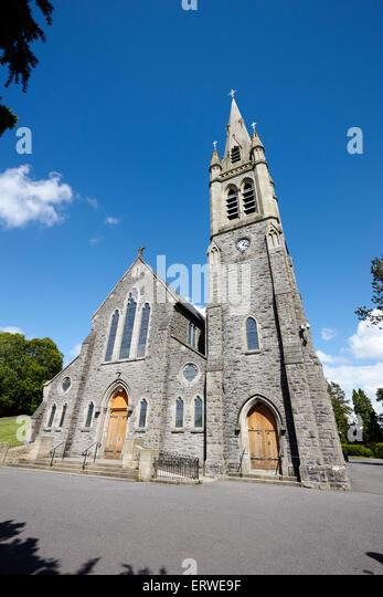 Kirche des Heiligsten Herzens römisch-katholische Kirche Klone Grafschaft Monaghan Irland Stockbild
