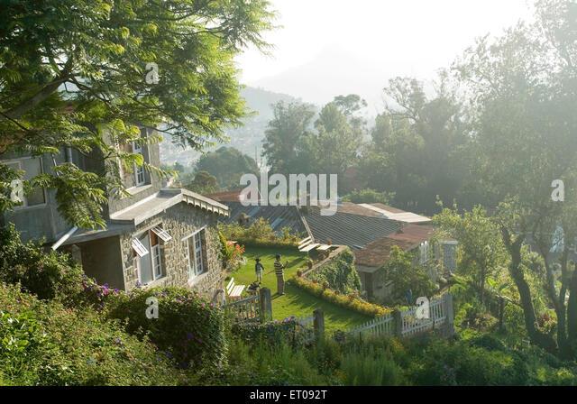 Resorts in Palani Hills auf 2133 m über dem Meeresspiegel; Kodaikanal im Volksmund bekannt als Kodai; Tamil Stockbild