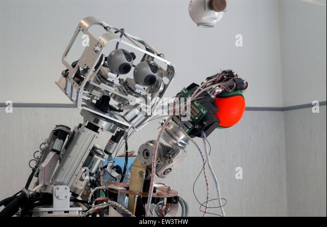 Fortgeschrittene Schule St. Anna von Pisa, Research Center von Pontedera, Labor ARTS Lab (Advanced Robotics Technology) Stockbild