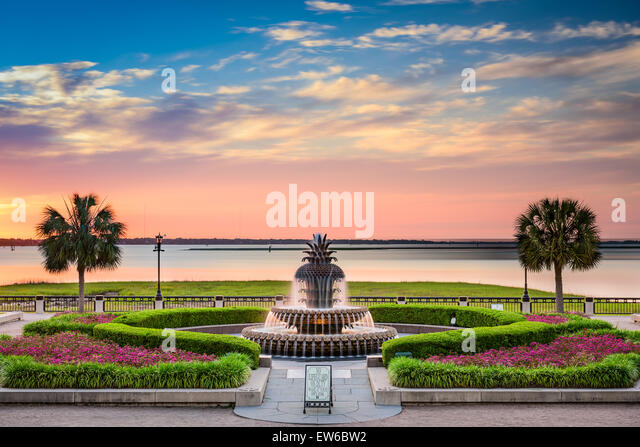 Charleston, South Carolina, USA Waterfront Park. Stockbild
