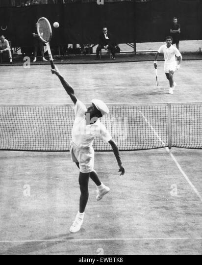 Ken Rosewall, 1955 Stockbild