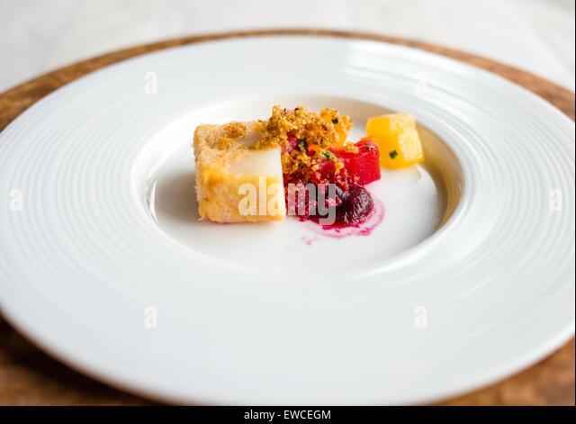 Kulinarisches Vorspeise zu finden. Stockbild