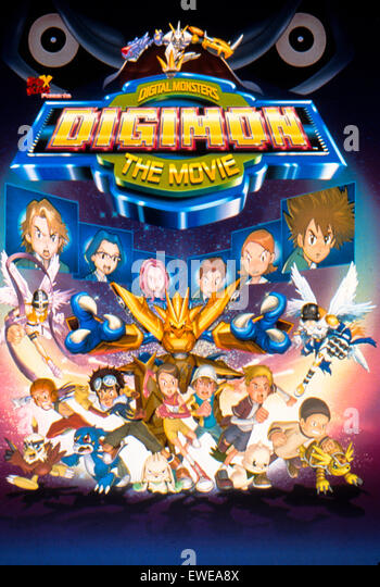 Digimon der Film Stockbild