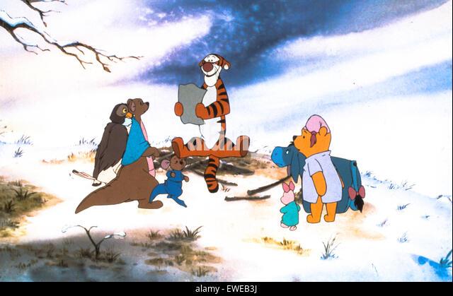 Tigger Film Stockbild