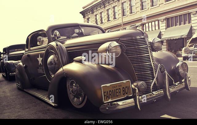 Oldtimer Automobile Stockbild