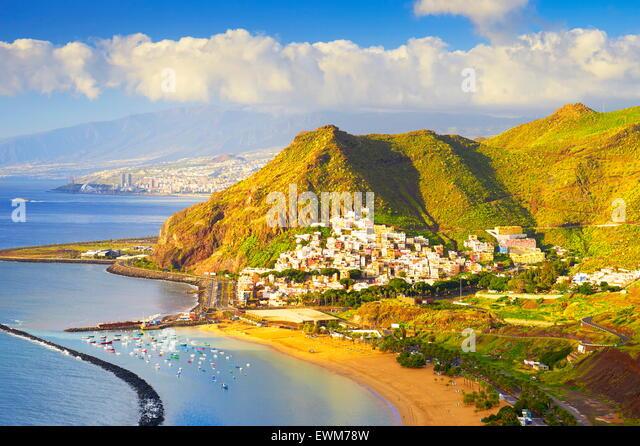 San Andres Dorf, Teneriffa, Kanarische Inseln, Spanien Stockbild