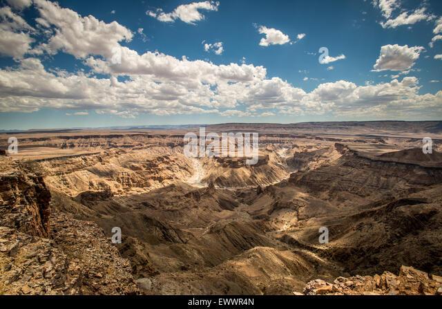 HOBAS, Namibia, Afrika - Fish River Canyon, die größte Schlucht in Afrika. Bestandteil der ?Ai-?Ais/Richtersveld Stockbild