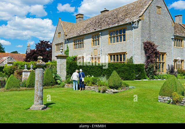 Metalle Carey Manor, einer National Trust Eigenschaft, Somerset, England UK Stockbild