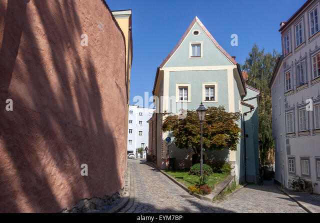 old town of passau stockfotos old town of passau bilder alamy. Black Bedroom Furniture Sets. Home Design Ideas