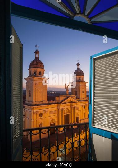 Santiago De Cuba. Plaza De La Revolucion Stockbild