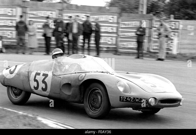 1955 LE MANS NAVARRO-MONTREMY MONOPOL PANHARD X86 Stockbild
