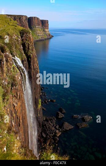 Kilt Rock Isle Of Skye Scotland UK Stockbild