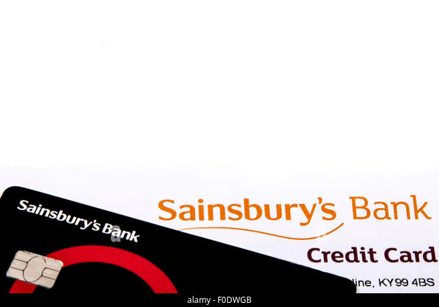 Sainsbury's Bank Stockbild