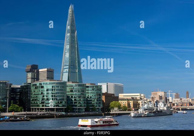 London, Shard London Bridge Stockbild