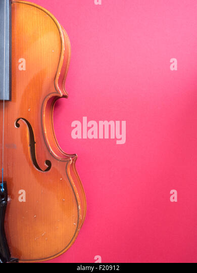 Geige Stockbild