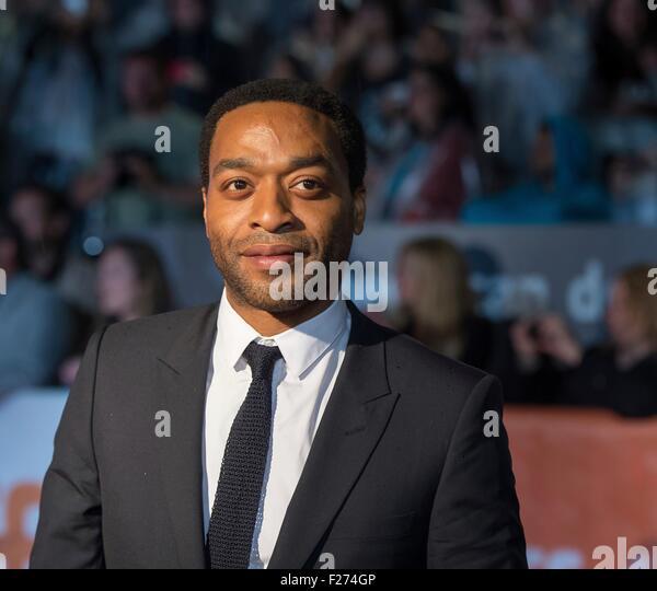 Schauspieler Chiwetel Ejiofor besucht die Weltpremiere für The Martian auf dem Toronto International Film Festival Stockbild