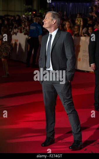 Schauspieler Jeff Daniels besucht die Weltpremiere für The Martian auf dem Toronto International Film Festival Stockbild