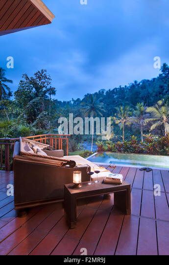 Four Seasons Bali at Sayan Stockbild