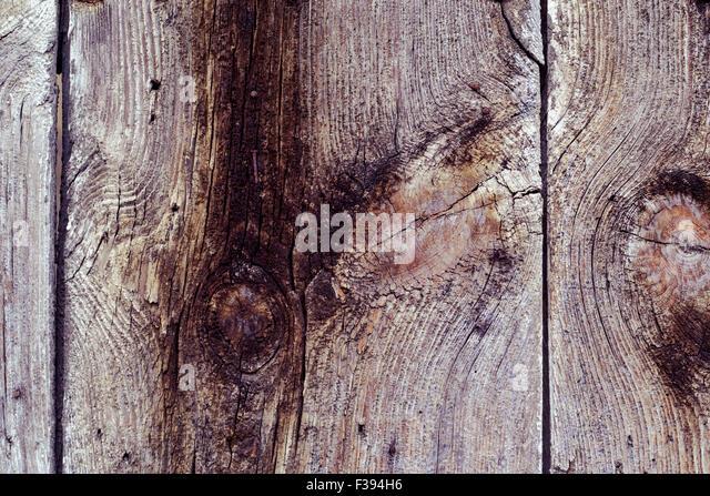 Nahaufnahme von einigen alten rustikalen Holzlatten als Hintergrund verwenden Stockbild