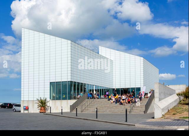 Der Turner Contemporary Art Gallery in Margate, Kent, England, UK - Stock-Bilder