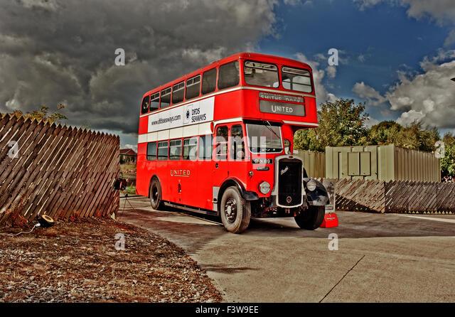 Oldtimer Bus Stockbild
