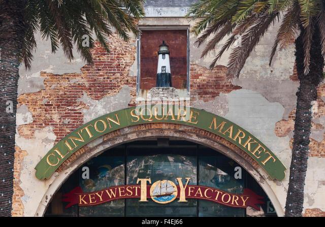 USA, Florida, Florida Keys, Key West, Clinton Square Markt. Stockbild