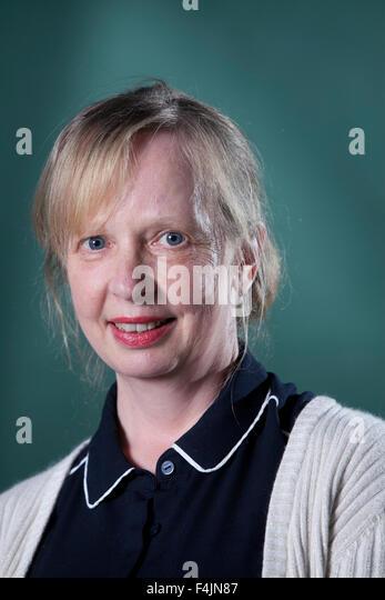Kate Hamer, der walisischen Schriftsteller auf dem Edinburgh International Book Festival 2015. Edinburgh, Schottland. Stockbild