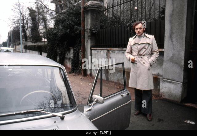 Patrick Dewaere / Serie Noire / 1979 unter der Regie von Alain Corneau Stockbild