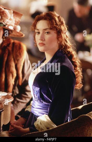 Kate Winslet / Titanic / 1997 unter der Regie von James Cameron [zwanzigsten Jahrhundert Fox Pictures] Stockbild