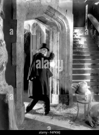 Lon Chaney / London After Midnight / 1927 unter der Regie von [Metro-Goldwyn-Mayer Pictures] Stockbild