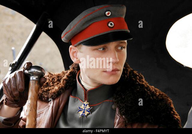 Matthias Schweighöfer / der Rote Baron / 2008 unter der Regie von Nikolai Müllerschön [Niama Film] Stockbild