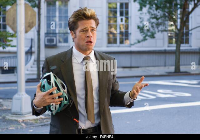 Brad Pitt / brennen nach der Lektüre / 2008 unter der Regie von Coen-Brüder [Macall Polay /Focus Features Stockbild