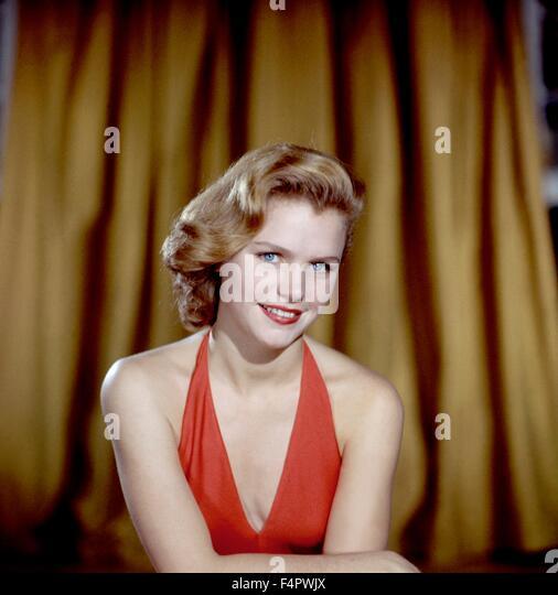 Lee Remick in den 50er Jahren. Stockbild