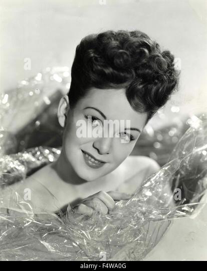 Die britische Schauspielerin Jean Kent Stockbild