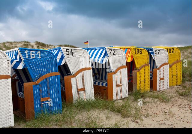 Deu, Deutschland, Schleswig-Holstein, Nordsee, Insel Amrum, liegen in den Dünen in der Nähe von norddorf. Stockbild