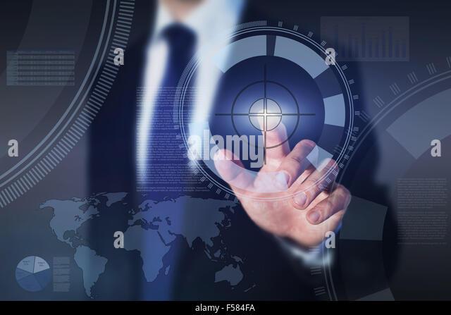 erfolgreiche Unternehmensführung, abstraktes Konzept Stockbild