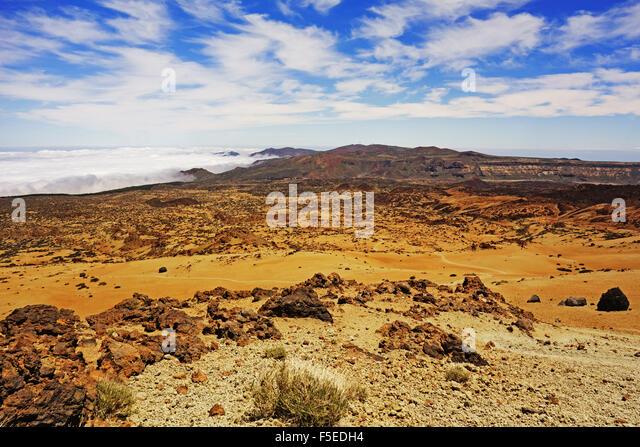 Las Canadas, Parque Nacional del Teide, Teneriffa, Kanarische Inseln, Spanien, Atlantik, Europa Stockbild