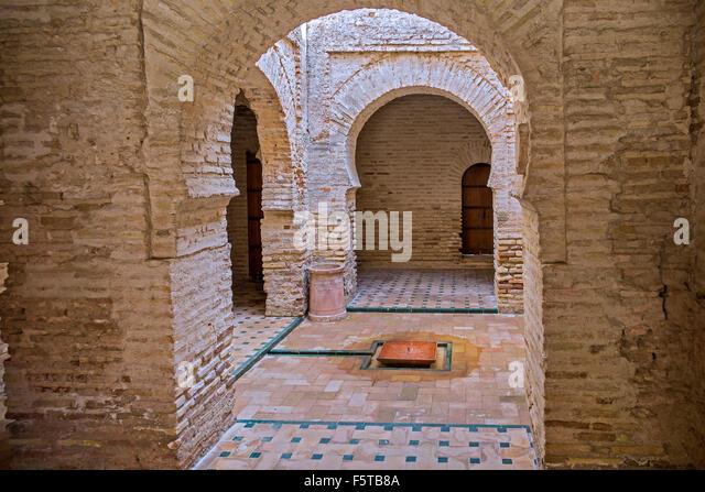 Moschee von Alcazar Jerez De La Frontera Andalusien Spanien Stockbild