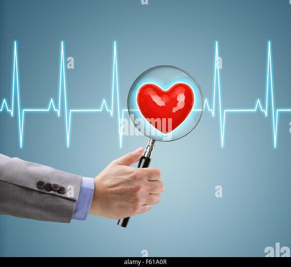 Herz-Gesundheits-checkup Stockbild
