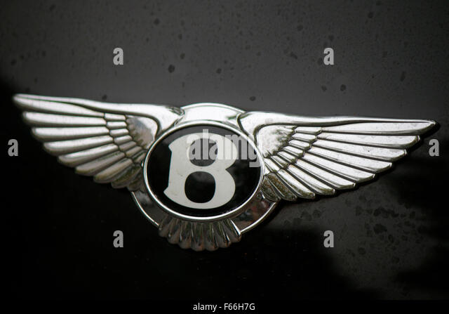 "Markennamen: ""Bentley"", Berlin. Stockbild"