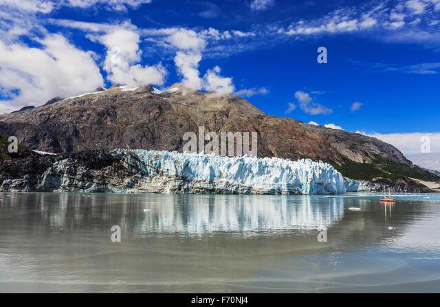 Margerie Gletscher im Glacier-Bay-Nationalpark, Alaska Stockbild