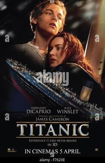 Film-Film-Poster der titanic Stockbild