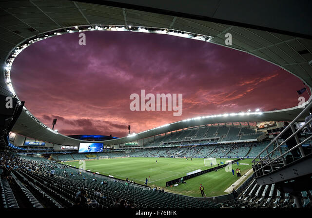 Allianz-Stadion, Sydney, Australien. 26. November 2015. Hyundai A-League. Sydney im Vergleich zu Wellington Phoenix. Stockbild
