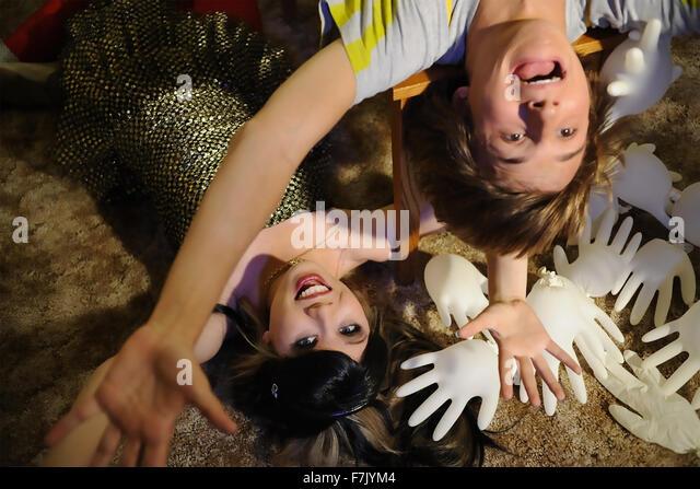 FRED: Der Film 2010 Nickelodeon TV-Film mit Jennette McCurdy und Lucas Cruikshank Stockbild