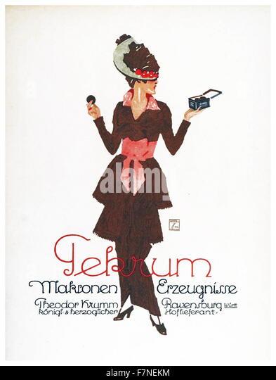 Plakat entworfen von Ludvig Hohlwein, 1926, Farbe Lithographie. Ludwig Hohlwein (27. Juli 1874 in Wiesbaden ? 15. Stockbild