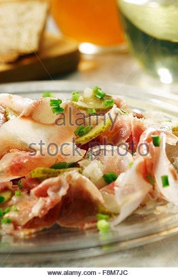 Schwäbischen Ochse Schnauze Salat Stockbild