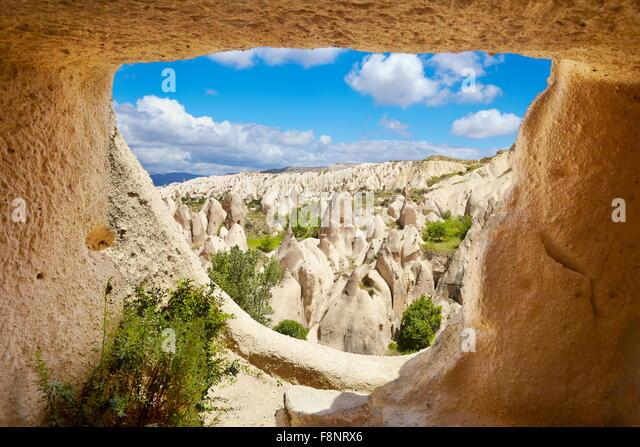Cappadocia - Nationalpark Göreme, Türkei, UNESCO Stockbild