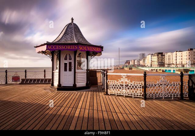 Brighton Pier, Brighton, Sussex, UK Stockbild
