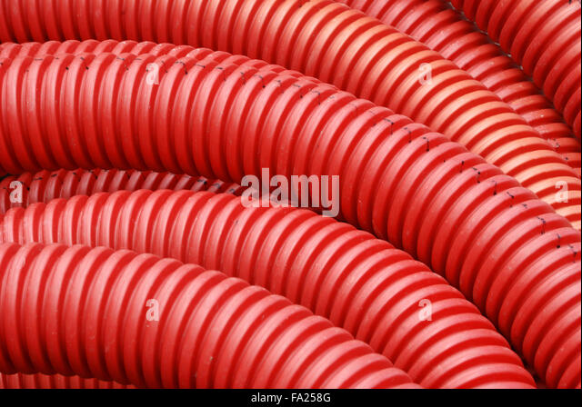 corrugated pipe stockfotos corrugated pipe bilder alamy. Black Bedroom Furniture Sets. Home Design Ideas