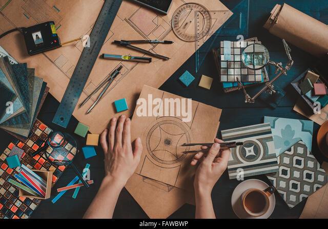 Zeichnen Sie Ihre home_pattern - Stock-Bilder